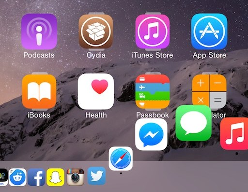 Harbor brings OS X Yosemite-inspired dock to iOS 8 [Jailbreak Tweak]